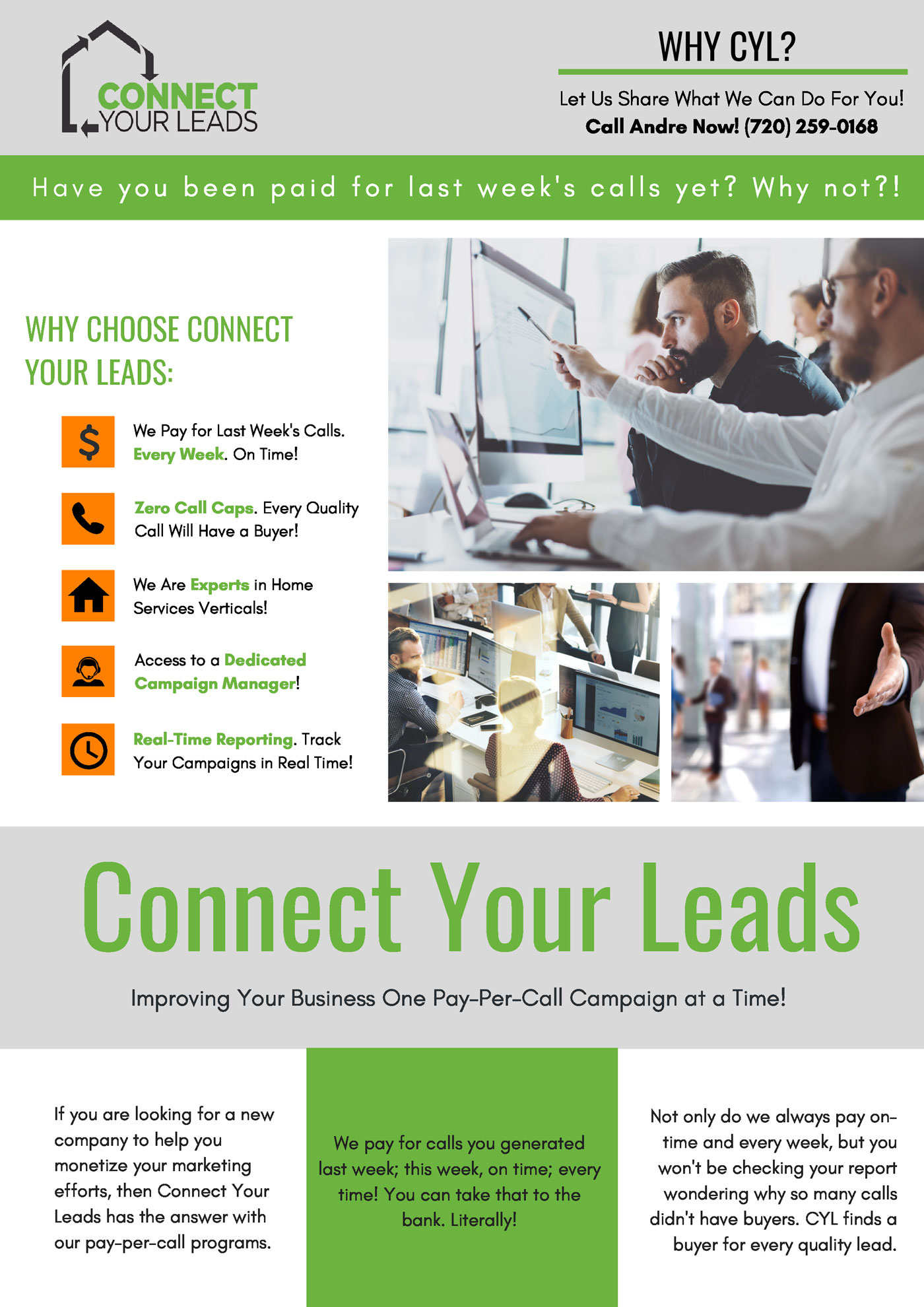 Connect Your Leads Benefits